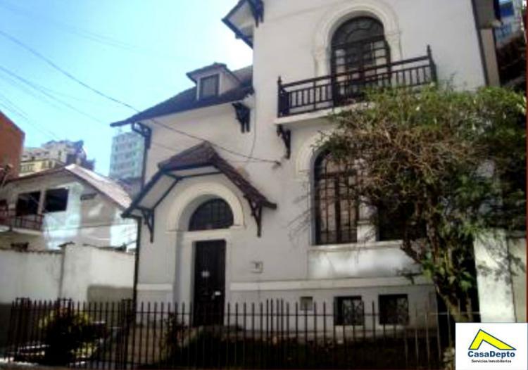 Casa en venta para oficina zona sopocachi la paz for Casas minimalistas la paz bolivia