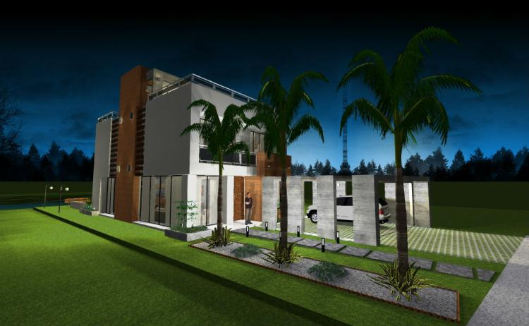 Ofresco moderna y hermosa vivienda estilo minimalista cav469 for Viviendas estilo minimalista
