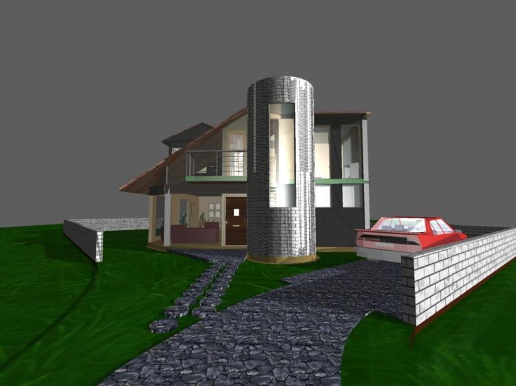 Ksafacil ofrece c0002v en pre venta casa en achumani for Casas minimalistas la paz bolivia