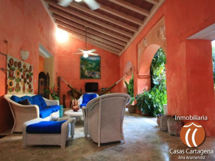 Arriendo casa colonial en cartagena y 2 salones de estar - Salones de estar ...