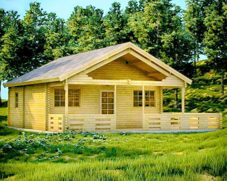 Casas prefabricadas en madera distribuimos en toda - Venta de casas de madera en sevilla ...