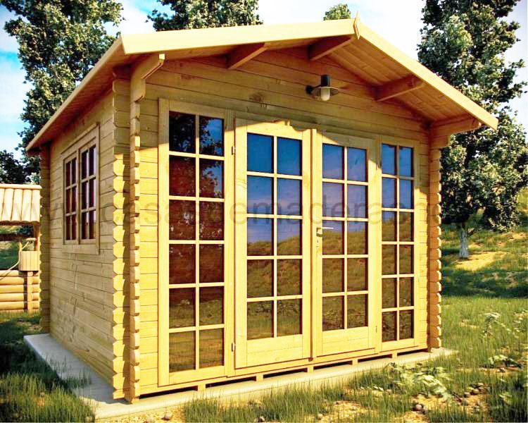 Casas prefabricadas en madera distribuimos en toda - Modelos casas madera ...