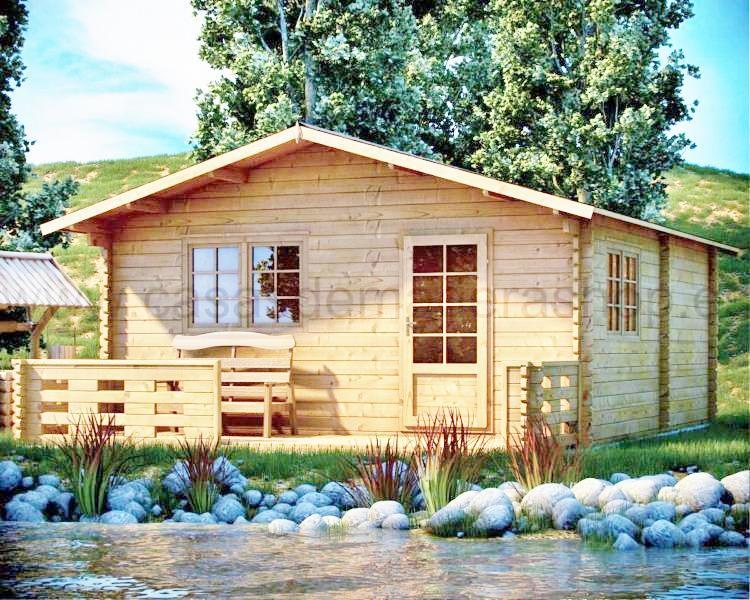 Casas prefabricadas en madera distribuimos en toda - Casas sostenibles precios ...