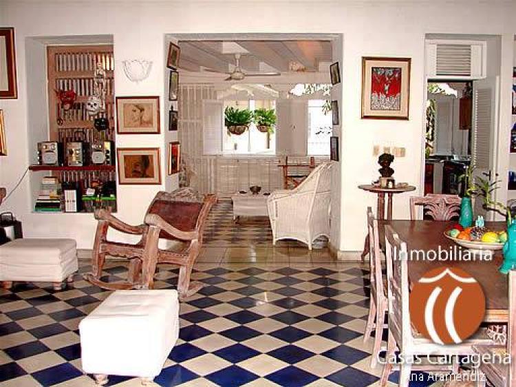 Alquilo casa en cartagena balcones coloniales y vista al mar caa53927