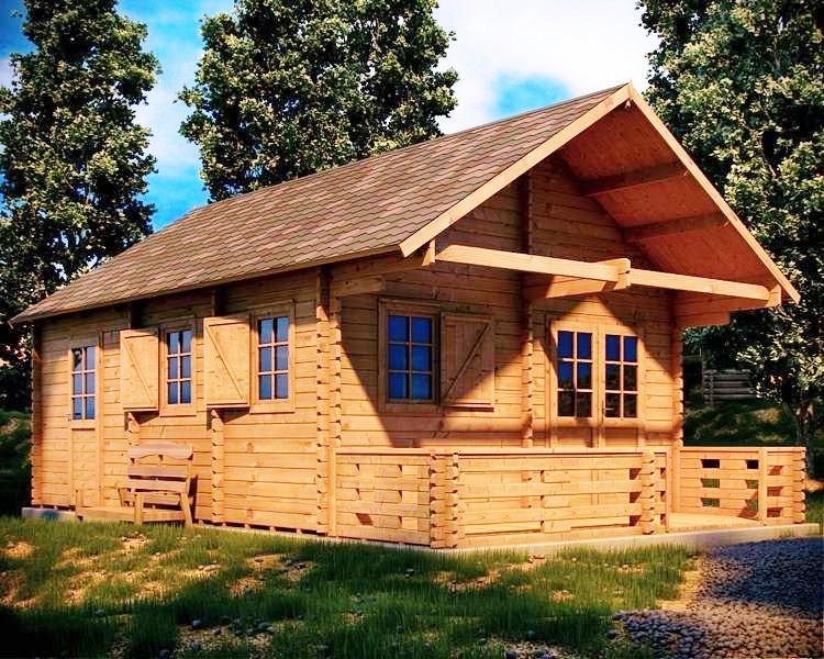 Casas prefabricadas en madera distribuimos en toda for Casas prefabricadas para jardin