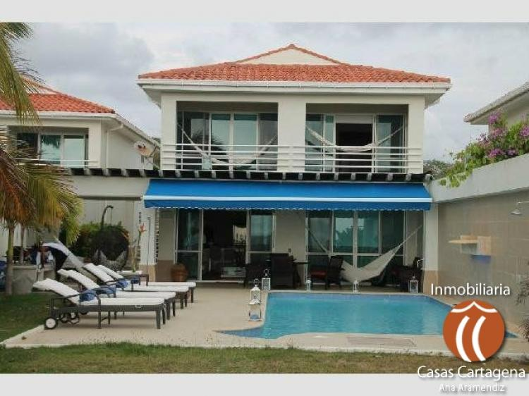 VENDO CASA CON PLAYA PRIVADA EN CARTAGENA