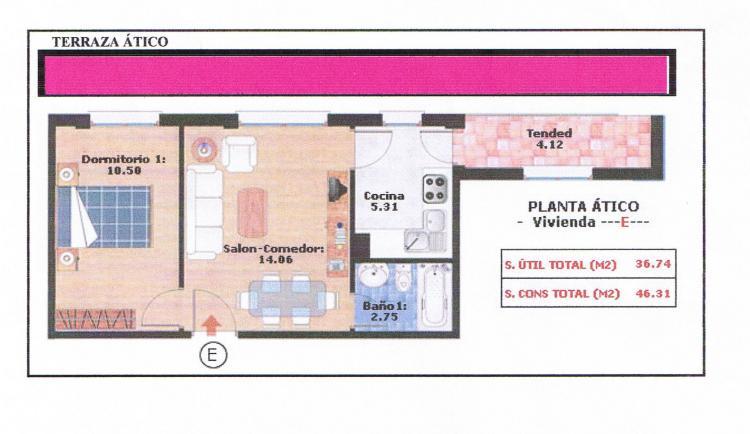 Telefono Nuevo Baño Ciudad Real:Foto Apartamento en Venta en Tomelloso  1 habitaciones € 73840