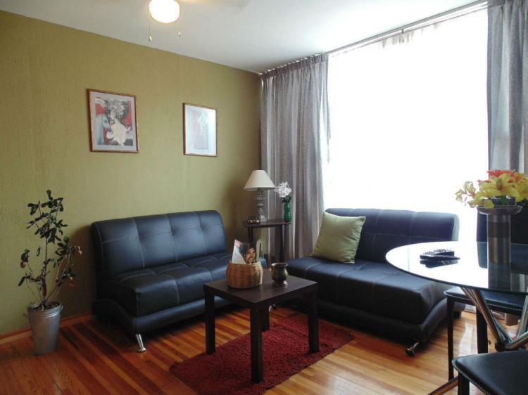 Ven a hospedarte suites con 2 habitaciones der112614 for Departamentos amueblados