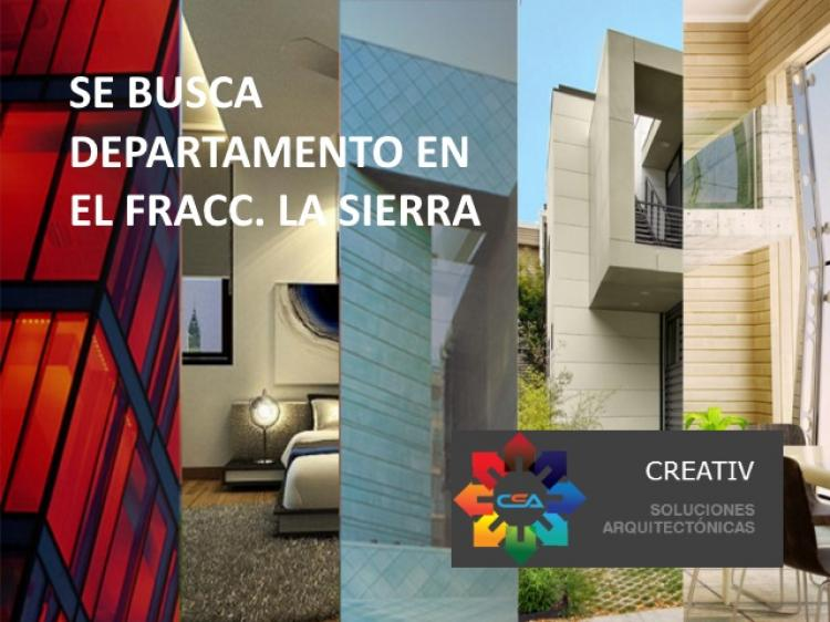 Foto Busco departamento en el área del Fracc. La Sierra