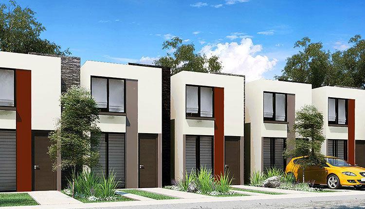 Campo real cav129825 for Casa actual