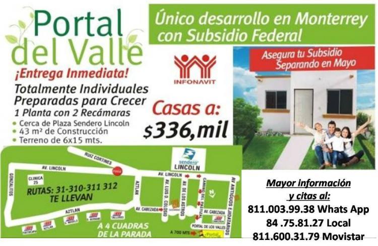 Casa en monterrey por la alianza solo 20 casas con for Casas de renta en monterrey economicas