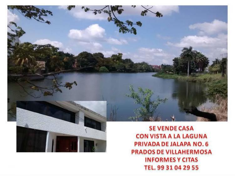 Casa en zona exclusica con vista a la laguna de las - Casas en la laguna ...