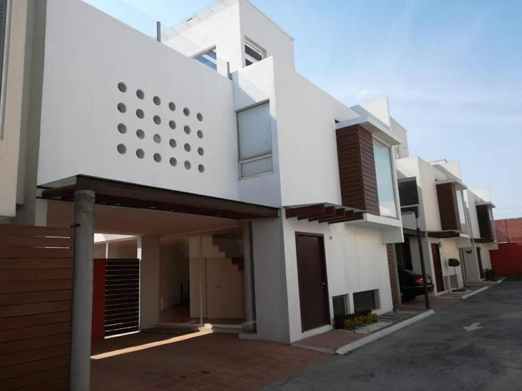 casa estilo minimalista en metepec cav227534