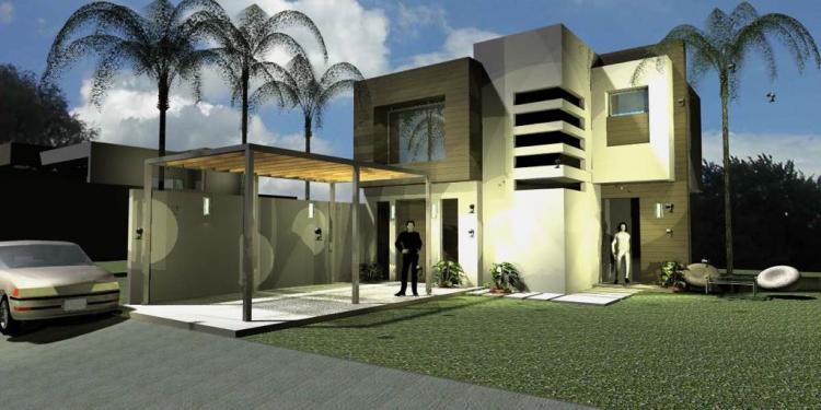 Casa minimalista en pedregal de oaxtepec morelos cav209162 for Casa minimalista chica