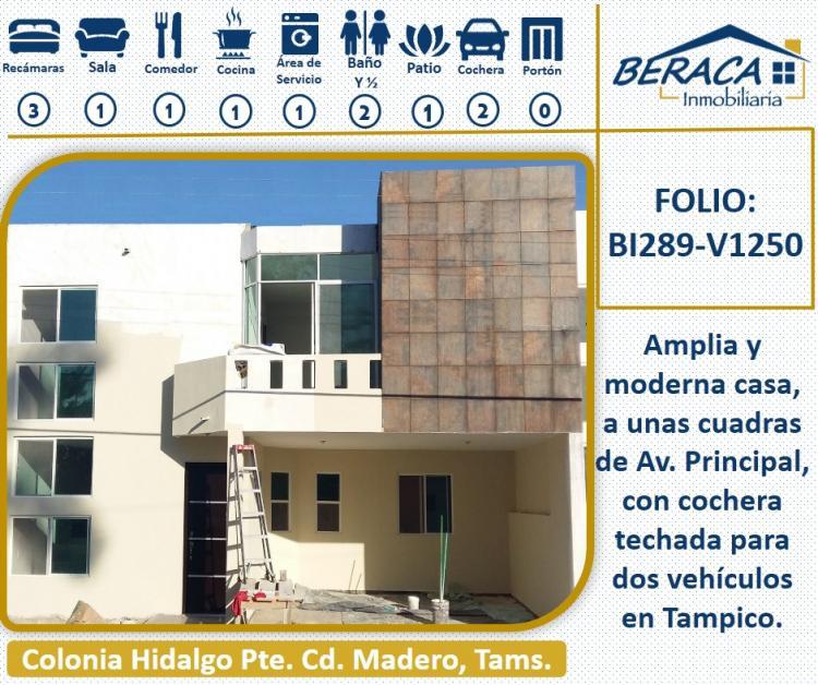 Casa nueva con moderno dise o en col hidalgo poniente a 3 for Casas en renta cd obregon