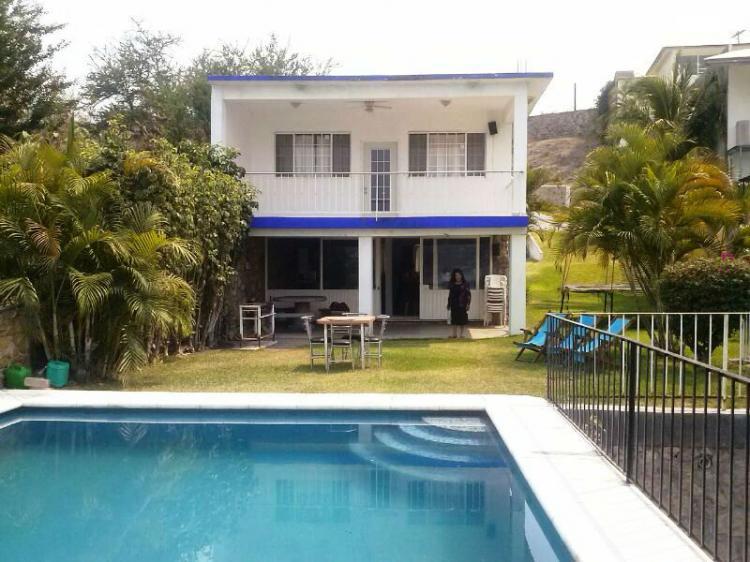 Casa con alberca lago tequesquitengo cav1919 for Villas imss tequesquitengo mor