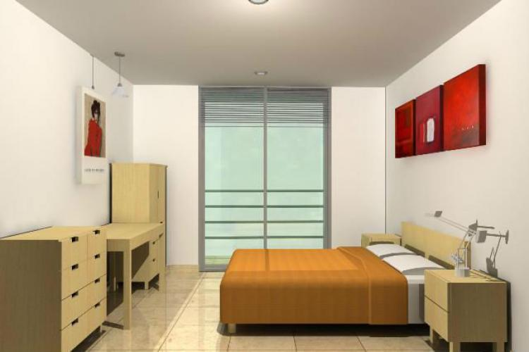 Departmentos nuevos estilo minimalista en venta df for Recamaras minimalistas df