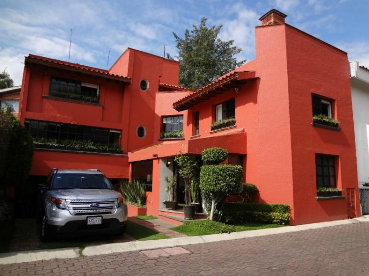 Bonita casa en condominio horizontal en bosque de tlalpan for Casas en condominio