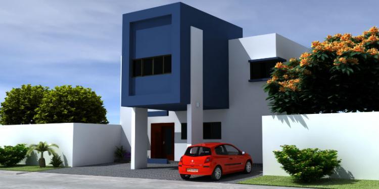 Res puerta azul zona country casas nuevas cav68815 for Casas nuevas minimalistas