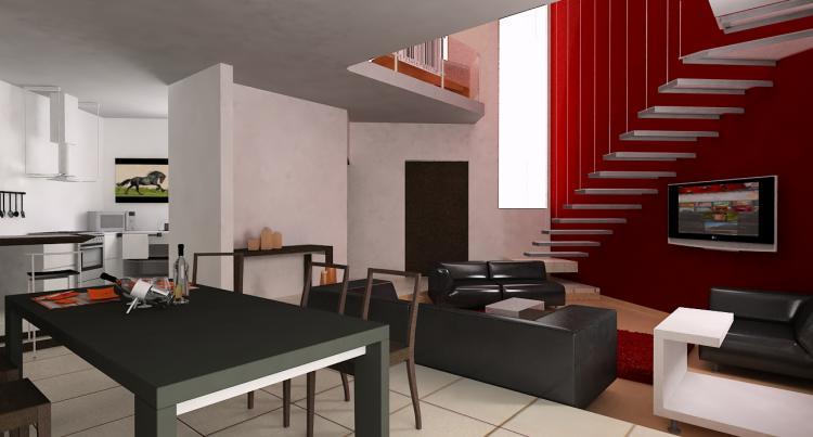 Hermos casa nueva estilo minimalista en residencial for Imagenes de casas estilo minimalista