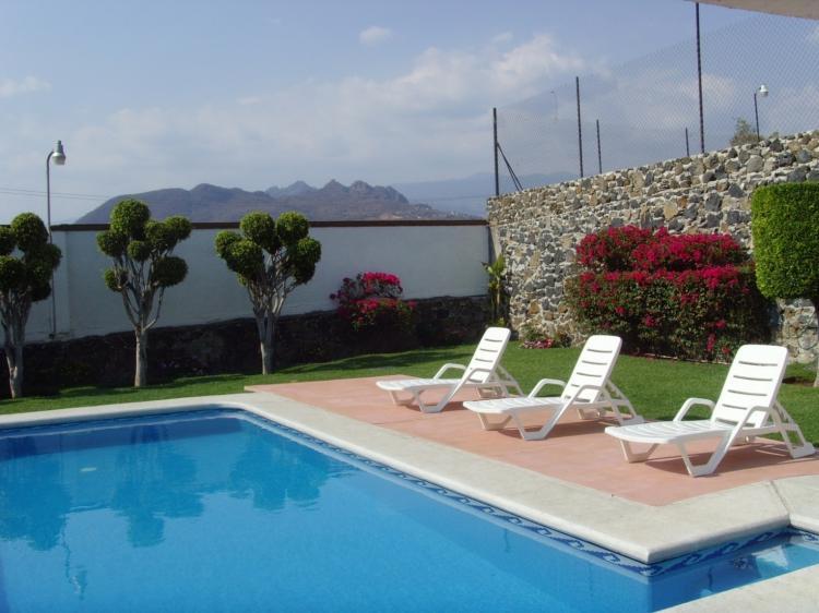 Oaxtepec se renta hermosa casa con alberca para for Casas de alquiler para vacaciones con piscina privada