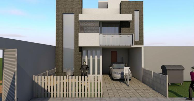 Hermosa casa estilo minimalista preventa cav163051 for Casas pequenas estilo minimalista
