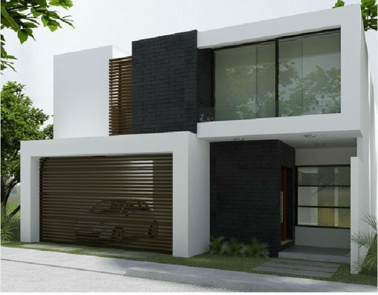 Hermosa residencia equipada con amplios espacios cav131879 for Casas minimalistas modernas con cochera subterranea