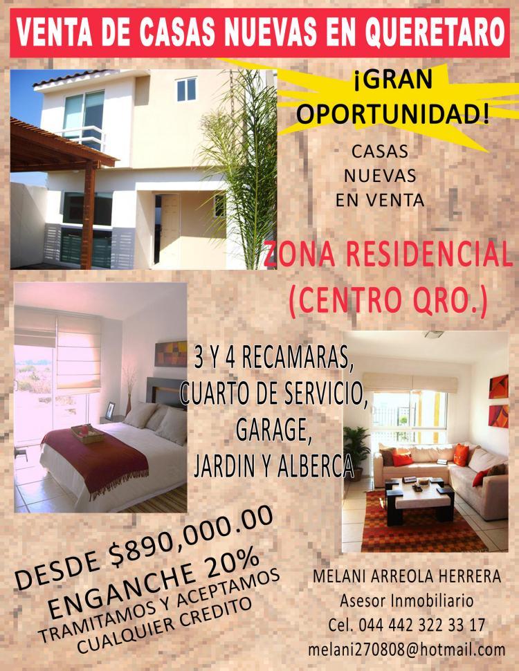 Venta de casas nuevas en queretaro desde 890 000 enganche 20 tramitamos y aceptamos creditos - Casas nuevas en terrassa ...