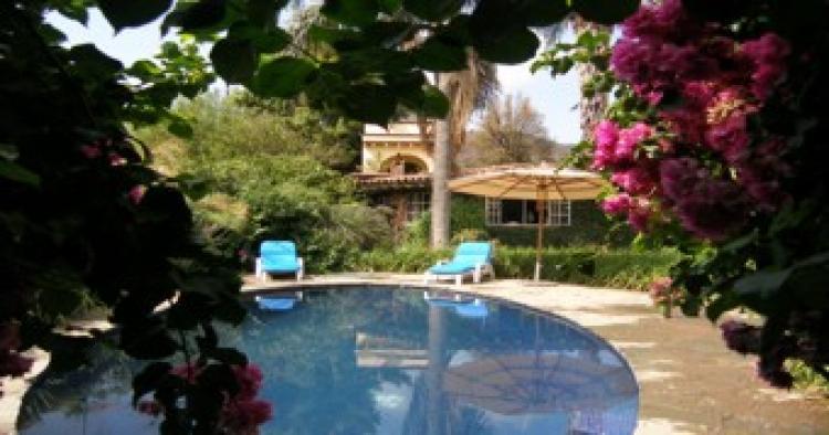 Bellisima casa en tepoztlan morelos conoce esta hermosa for Jardines espectaculares