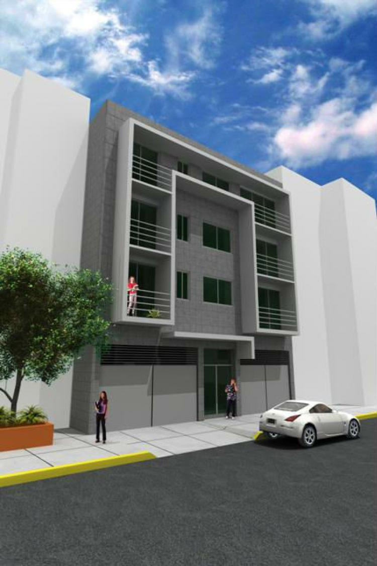 Departamentos narvarte distrito federal minimalistas 2 o for Departamentos minimalistas fachadas