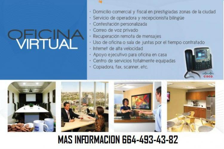 Oficinas virtuales en renta tijuana ofr47312 for Renta oficinas virtuales
