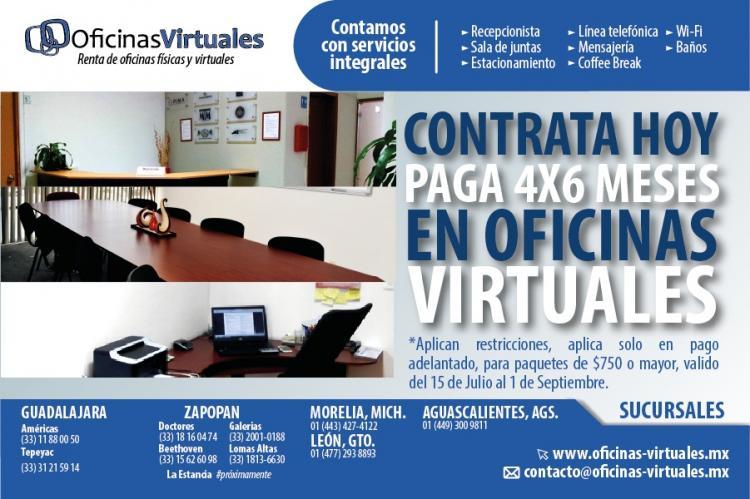 Oficina en renta torre zapopan por av royal country ofr64797 for Oficina virtual internet