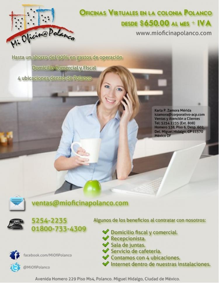 Oficinas virtuales en polanco ofr101972 for Oficinas virtuales mexico df