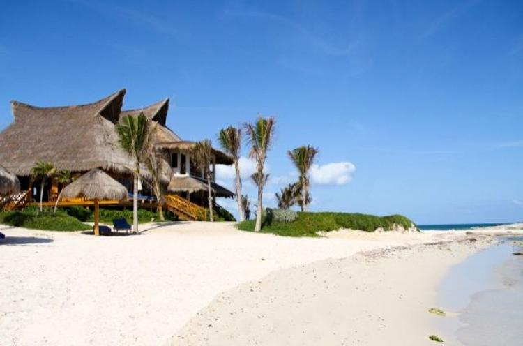 Foto Vendo Hotel Playa Tulum, Turtle Cove Tulum Beach Hotel For Sale. HOV41904
