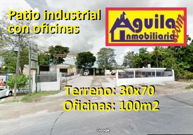 Foto RENTO PATIO INDUSTRIAL DE 2,100m2 CON OFICINAS  EN ORIENTE 1RA SECC.