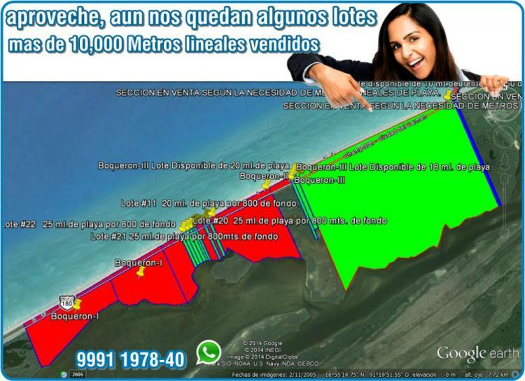 Lotes En Playas Virgenes Entre Isla Aguada Y Sabancuy: Fotos De Terrenos En Playas Del Carmen, Entre Isla Aguada
