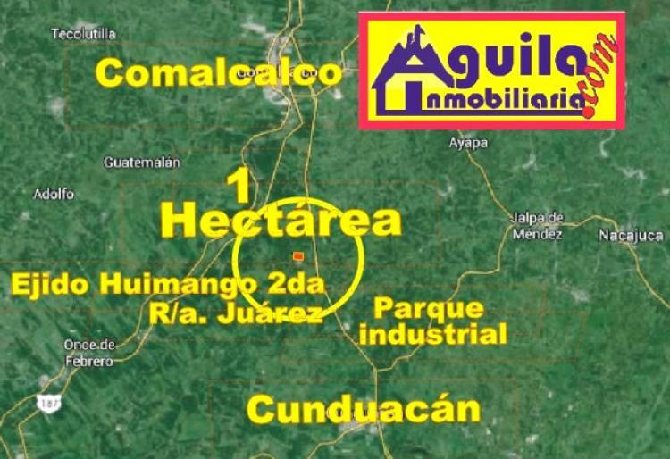 Foto VENDE 1.14 Has. A 1.7 Km DE V�A CORTA , HUIMANGO, CUNDUAC�N