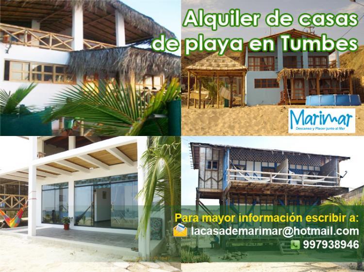 Alquler De Casas De Playa En Tumbes Cat9739