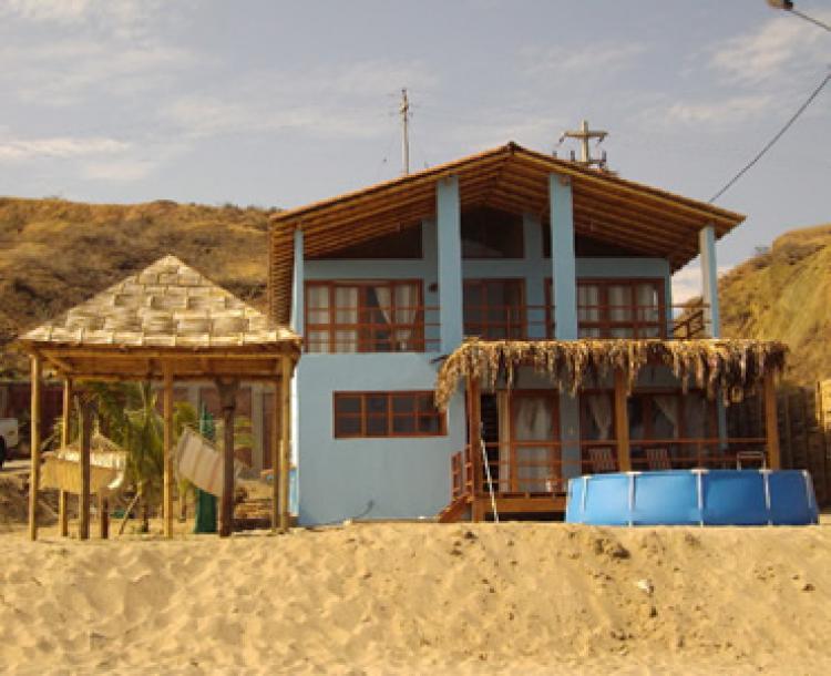 Alquiler temporal de casas de playa frente al tibio mar de for Parrillas para casa de playa