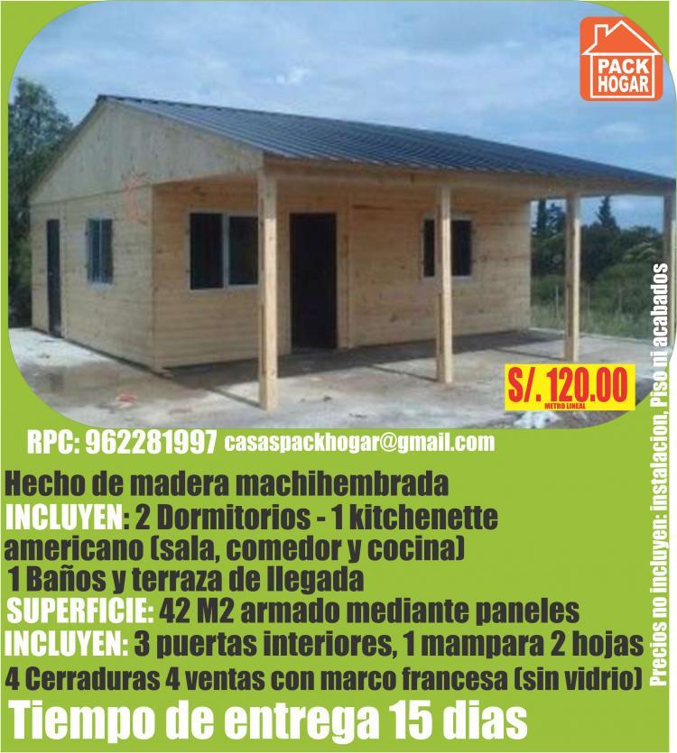 CASAS DE CAMPO CABAÑAS BUNGALOWS MODELOS DISEÑOS EN CAÑETE LIMA PERU ...