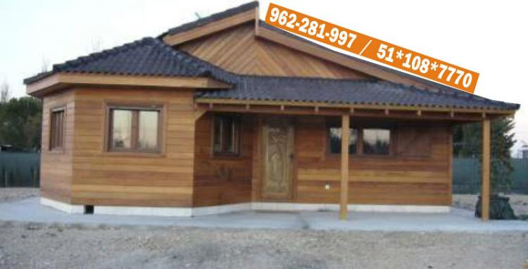 Fotos de casas modelos dise o de madera prefabricada peru for Diseno de casas online
