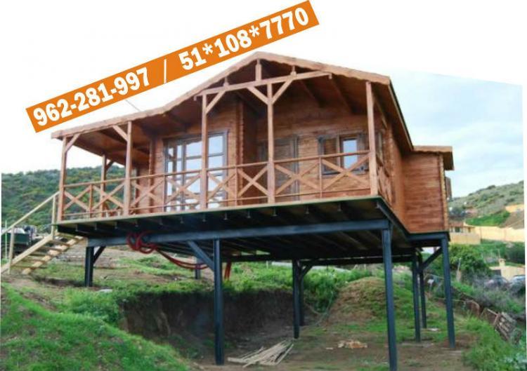 Fotos de casas modelos dise o de madera prefabricada peru - Diseno de casas online ...