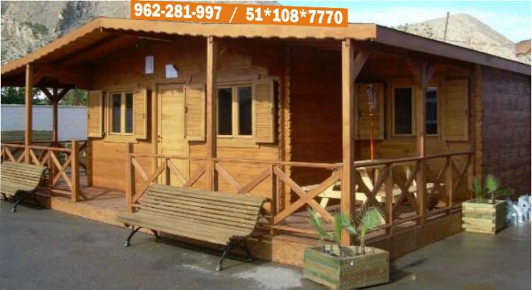 Casas modelos dise o de madera prefabricada peru chv11042 - Disenos casas de madera ...