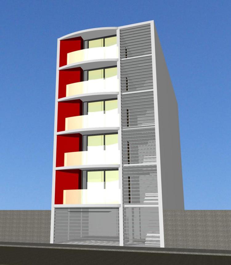 Edificio multifamiliar san isidro dev7550 for Modelos de departamentos modernos