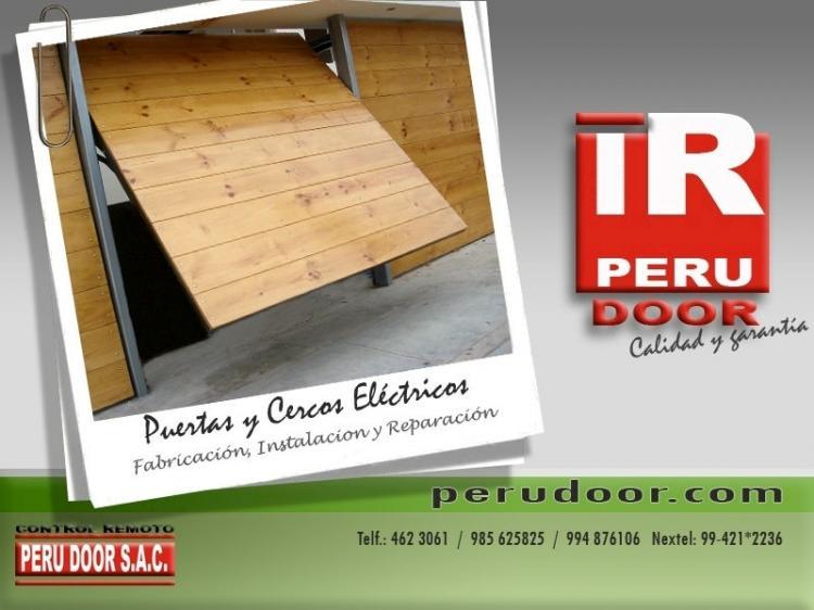 Puertas de garaje peru door ccv18126 for Precio de puertas levadizas en lima peru