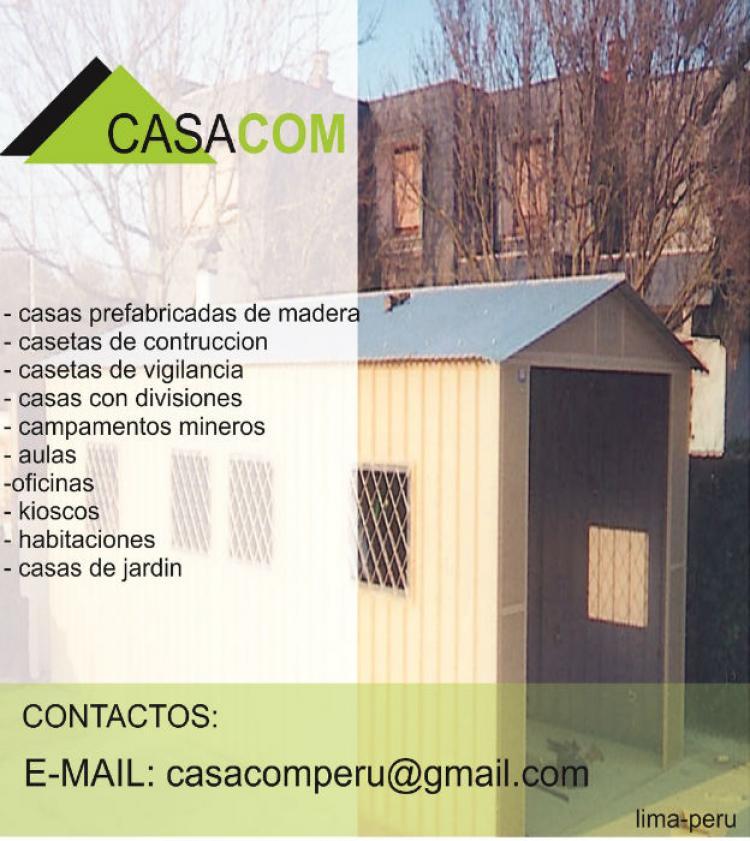Venta de casas casetas m dulos campamentos oficinas y - Modulos de casas ...