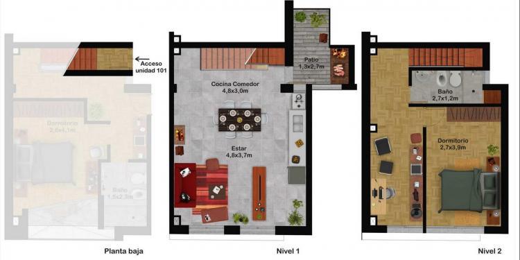 Apartamento en venta en parque rodo zona de universidades for Dormitorios de universidades