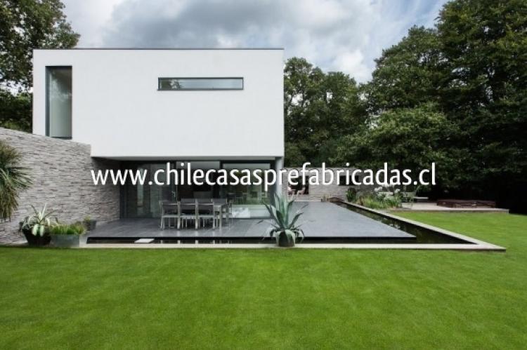 Construimos casa moderna mediterranea todo chile cav27100 for Casa moderna ud