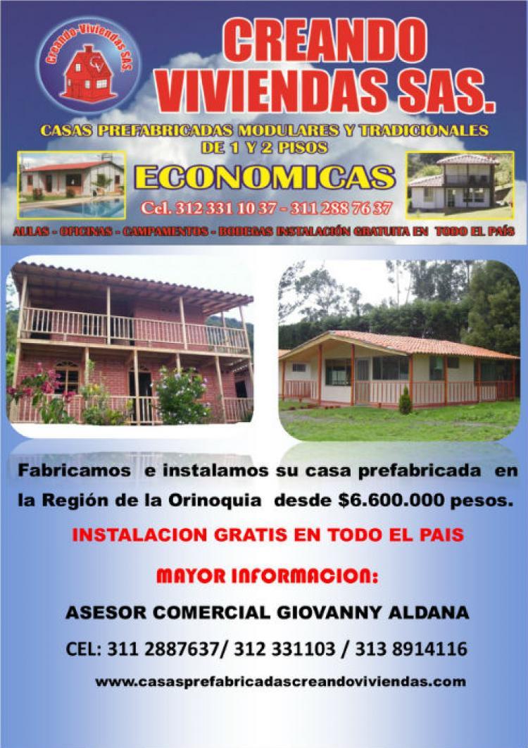 Casas Prefabricadas Cumaral Meta Creando Viviendas Cav104588