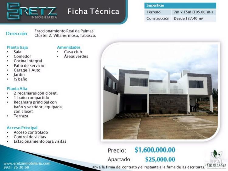 Foto Casa en Venta en FRACC. SAN ANGEL, Villahermosa, Tabasco - 145 m2 - $ 1.600.000 - CAV161184 - BienesOnLine